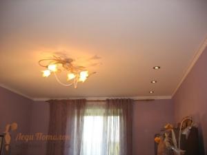 Тканевые натяжные потолки в Москве